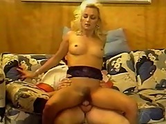 Fairhead gives head and fuck with a huge cock