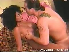Vintage Busty Ebony Shakes Her Big Afro As She Gets Hammered By A White Tool