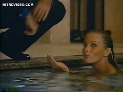 Breathtaking Retro Blonde Bo Derek Swimming Totally Naked