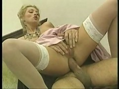 Hard anal with a blonde