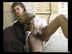 Angelica Bella fucked in a castle