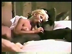 Vintage fuck with ebony dude