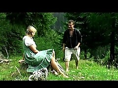 Youngster slut fucked in the greeny mountain