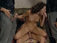 Regina Sipos German HouseWife gangbanged by Soldiers