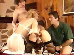 Mature Lesbians Having Group Sex And Fisting Pussy With Dude Watching