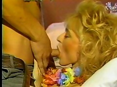 Blond whore desires Latin stud machine
