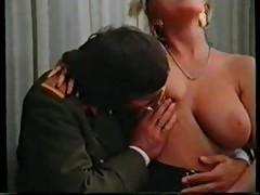 Retro teacher fucks her 3 students
