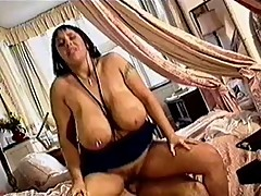 Big Titty Honey in Action