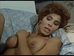 Retro lesbian sex with hairy pussy eating