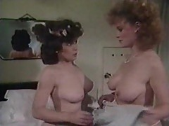 Vintage doctor having lesbo sex with patient