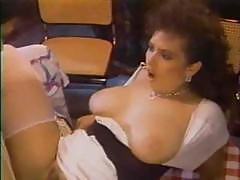 Brunette Milf Fuck On Table
