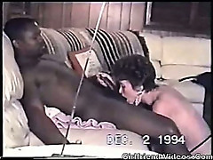 Retro Interracial Mature BJ