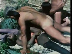 Outdoor interracial sex