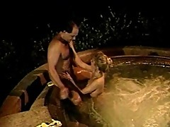 Outdoor jacuzzi fuckfest revealed