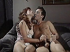 Sexy redhead chick gets pounded doggy style
