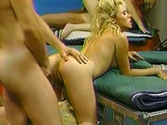 Attractive Blonde Joins Group Fucking