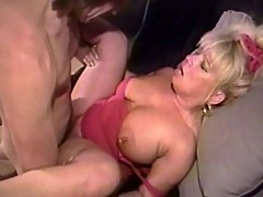 Filthy mature slut gets pussy shaved