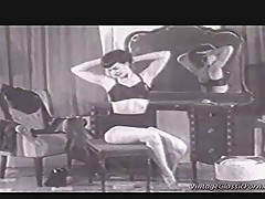 Vintage fetish girl