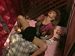 Huge cock squirts cum all over sluts pussy