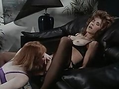 Retro Office Hoes Lesbo Style