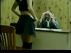 Old teacher fucks student part 1