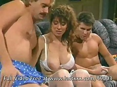 Christy Canyon classic with Joey Silvera and TT Boy