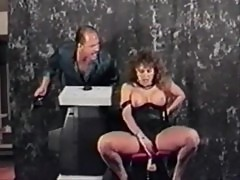 Ashlyn gere rides a sex machine, then rides rocco