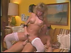 Candie Evans rides the cock