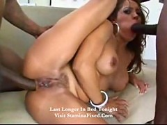 Hot gangbang of francesca le