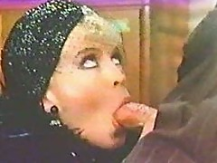 Amber Lynn blows Harry Reems