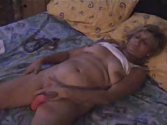 Orgasm at home Granny Jacqueline 61 years