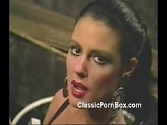 Jeanna Fine gets leathered up