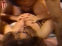 Filthy Keisha gets bosoms nibbled