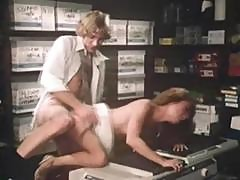 Classic Porn With Loni Sanders Getting It On In The Office