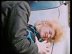 Marilyn Jess - Blonde Beauty and a Car Hood