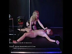 Hottest bondage with nina hartley