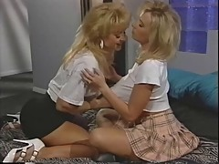 Nina hartley - with hot girlfriend