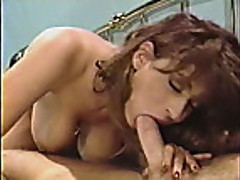 Christy Canyon & Randy West sweat fucking
