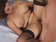 Serena banged while wearing stocking
